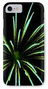 Green Lights Up The Sky IPhone Case by Cynthia N Couch