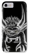 Grevil Chalk IPhone Case by Shawn Dall