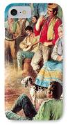 Gypsies Partying IPhone Case by English School