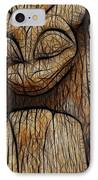 Haida Totem IPhone Case by Bob Christopher