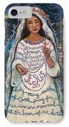 Hail Mary IPhone Case by Jen Norton