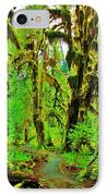 Hall Of Moss IPhone Case by Benjamin Yeager