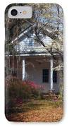 Hampton Slave Quarters IPhone Case by John Rizzuto