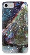 Happy Holidays Blue And Red Wishing Stars IPhone Case by Johane Amirault