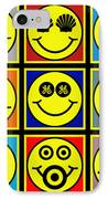 Happy Logos IPhone Case by Tony Rubino