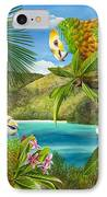 Have You Heard  IPhone Case by Carolyn Steele
