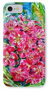Hawthorn Blossom IPhone Case by Zaira Dzhaubaeva