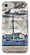 Hdr Tall Ship Boat Pirate Sail Sailing Photography Gallery Art Image Photo Buy Sell Sale Picture  IPhone Case by Pictures HDR