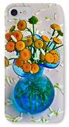 He Loves Me Bouquet IPhone Case by Frozen in Time Fine Art Photography