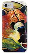 He Who Greets With Fire IPhone Case by Joe  Triano