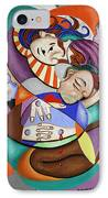 Here My Prayer IPhone Case by Anthony Falbo