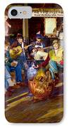 Hillbilly Happy Hour IPhone Case by Anne Goetze