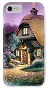 Hillcrest Cottage IPhone Case by Steve Read