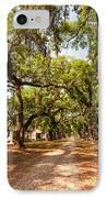 Historic Lane IPhone Case by Steve Harrington