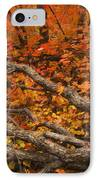 Holding Back IPhone Case by Peter Coskun