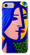 Homage To Pablo Picasso IPhone Case by John  Nolan