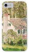 Hopewell Furnace In Pennsylvania IPhone Case by Olivier Le Queinec