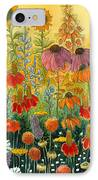 Hot And Hazy IPhone Case by Katherine Miller