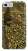 I Filari In Autunno IPhone Case by Guido Borelli