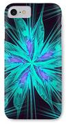 Ice Flower IPhone Case by Anastasiya Malakhova