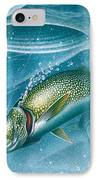 Ice Laker IPhone Case by Jon Q Wright