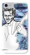 Icons- Chuck Berry IPhone Case by Jerrett Dornbusch