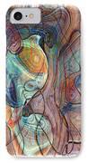 In My Minds Eye IPhone Case by Susan Leggett