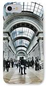 In The Louvre  IPhone Case by Marianna Mills