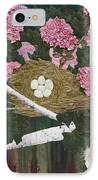 In The Pink IPhone Case by Anita Jacques