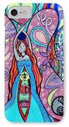 Inner Goddess IPhone Case by Kim Larocque