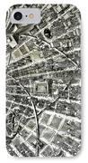 Inside Orbital City IPhone Case by Murphy Elliott
