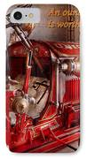 Inspiration - Truck - Waiting For A Call IPhone Case by Mike Savad