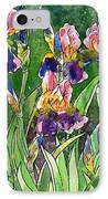 Iris Inspiration IPhone Case by Zaira Dzhaubaeva