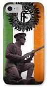 Irish 1916 Volunteer IPhone Case by David Doyle