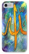 Islamic Caligraphy 001 IPhone Case by Catf