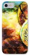 Islamic Calligraphy 021 IPhone Case by Catf