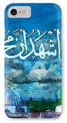 Islamic Calligraphy 22 IPhone Case by Catf