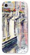 Italy Venice Midday IPhone Case by Yuriy Shevchuk