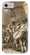 Itinerant Musicians Playing In A Poor IPhone Case by Paul Sandby