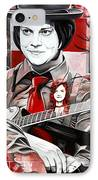 Jack White IPhone Case by Joshua Morton