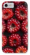 Japanese Wineberry Pattern IPhone Case by Tim Gainey