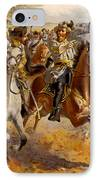 Jeb Stuart Civil War IPhone Case by Henry Alexander Ogden