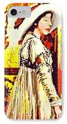 Jersey Lil Langtry IPhone Case by Larry Lamb