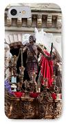 Jesus Christ And Roman Soldiers On Procession IPhone Case by Artur Bogacki