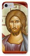 Jesus Christ IPhone Case by Julia Bridget Hayes