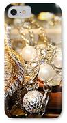 Jewelry Collections IPhone Case by Ester  Rogers