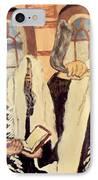 Jewish New Year 2 IPhone Case by Mimi Eskenazi