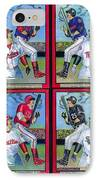 Jim Thome Hits 600th Home Run IPhone Case by Ray Tapajna
