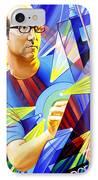 Joel Cummins  IPhone Case by Joshua Morton