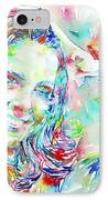 Kate Middleton Portrait.1 IPhone Case by Fabrizio Cassetta